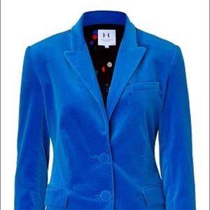 Velour Halston Heritage blazer - size 12